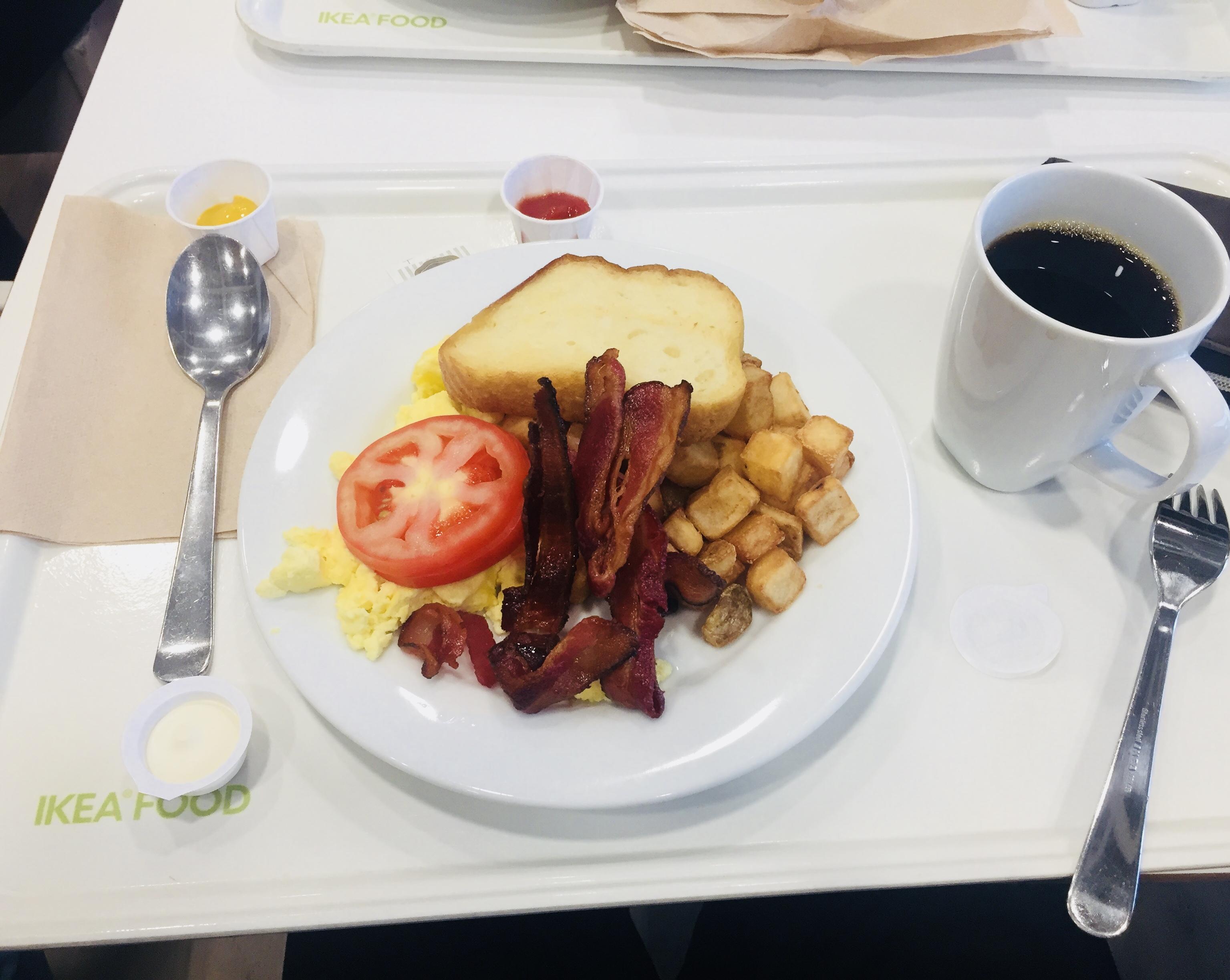 IKEA・朝食