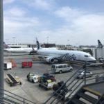 【アラスカ航空】概説!!アラスカ航空のサービス・機内食をチェック!!ロサンゼルス-ポートランド