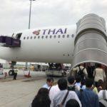 【タイ国際航空】概説!!タイ国際航空のサービス・機内食をチェック!!バンコク-成田