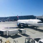 【デルタ航空】アメリカ・大陸横断路線のサービスは?機内食が復活!!デルタ航空の国内線は優良だ!!B757 サンフランシスコ-ニューヨーク/JFK